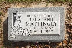 Lela Ann <i>Franks</i> Mattingly