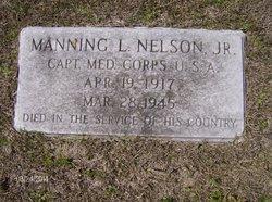 Capt Manning Lionel Nelson, Jr