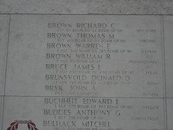 1Lt Richard C Brown