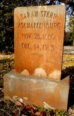 Sarah <i>Stern</i> Aschaffenburg