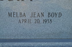 Melba Jean <i>Boyd</i> Boatright