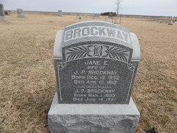 Eliza Jane <i>Sorden</i> Brockway
