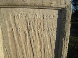Mary Ann <i>Prosser</i> Armstrong