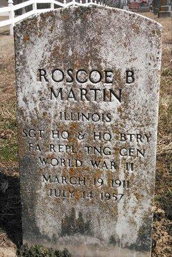 Roscoe Benton Martin