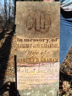 Margret Jane Eliza <i>Hyde</i> Graham