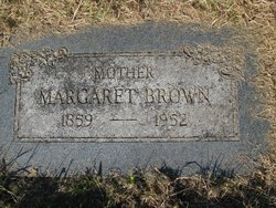 Margaret Elmira Maggie <i>Garriott</i> Brown