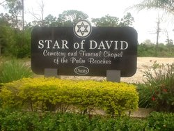 Star of David Cemetery of the Palm Beaches