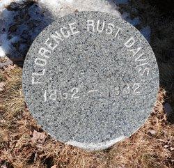 Florence Taylor <i>Rust</i> Davis