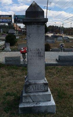 Laura Helen <i>Feagans</i> Bailey