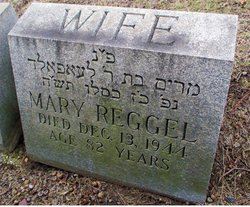 Mary <i>Isaacs</i> Reggel