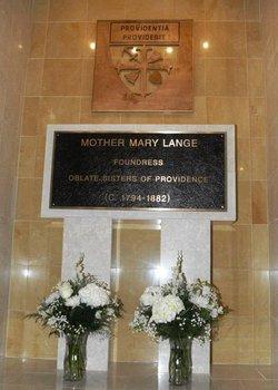 Sr Mary Lange