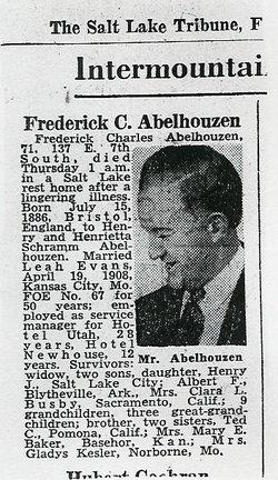 Frederick Charles Abelhouzen
