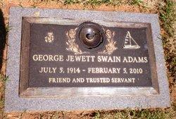George Jewett Swain Adams