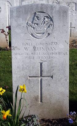 Corp William Munday