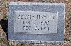 Beoria <i>Tracy</i> Hayley