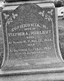 Sophronia R. <i>Stevens</i> Hurlbut