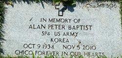 Alan Peter Baptist