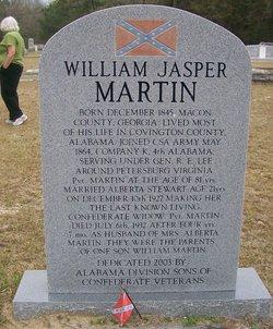 Pvt William Jasper Martin