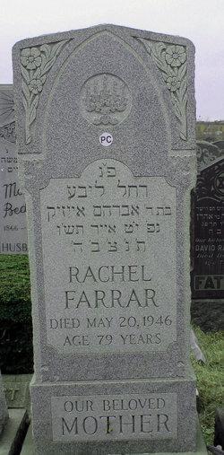 Mrs Rachel Farrar