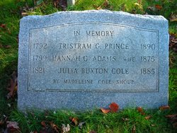 Julia Buxton <i>Prince</i> Cole