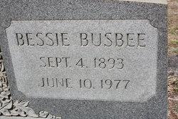 Bessie <i>Busbee</i> Abney