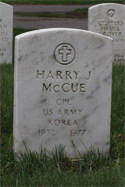 Harry James McCue