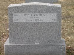 Alma Florence <i>Brooks</i> Bodette