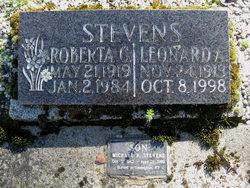 Leonard Albert Stevens