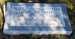 Betty June Bruton