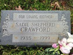 Sadie Rae <i>Shepherd</i> Crawford