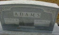 Georgia Y. Adams