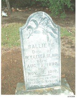 Sallie S. Blair