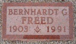 Bernhardt G. Freed