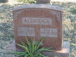 Pearley M. Aldridge