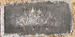 Edward E Adcock