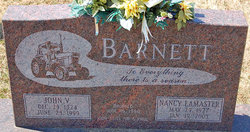 John V Barnett