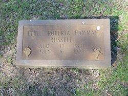 Ethel Roberta <i>Hamman</i> Russell