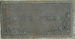 Edith Cora Arvedson