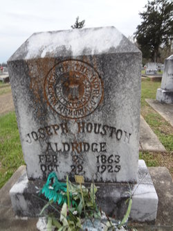 Joseph Houston Aldridge