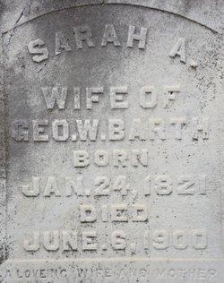 Sarah Ann <i>Pendleton</i> Barth