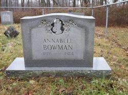 Annabell <i>Bowman</i> Bowman