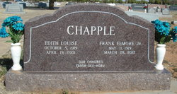 Edith Louise <i>McCrohan</i> Chapple