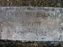 Lucille <i>Greenland</i> Booth