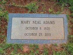 Mary <i>Neal</i> Adams