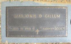 Marjorie Doris <i>Roberts</i> Gillum
