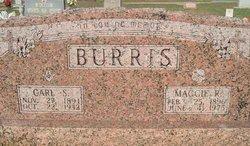 Maggie Jane <i>R.</i> Burris
