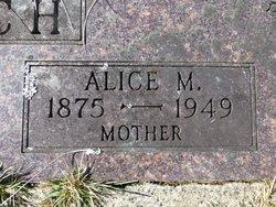 Alice M. <i>Sullens</i> Church