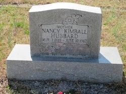 Nancy <i>Kimball</i> Hubbard