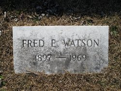 Fred E Watson