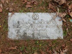 Vivian M. Holmes